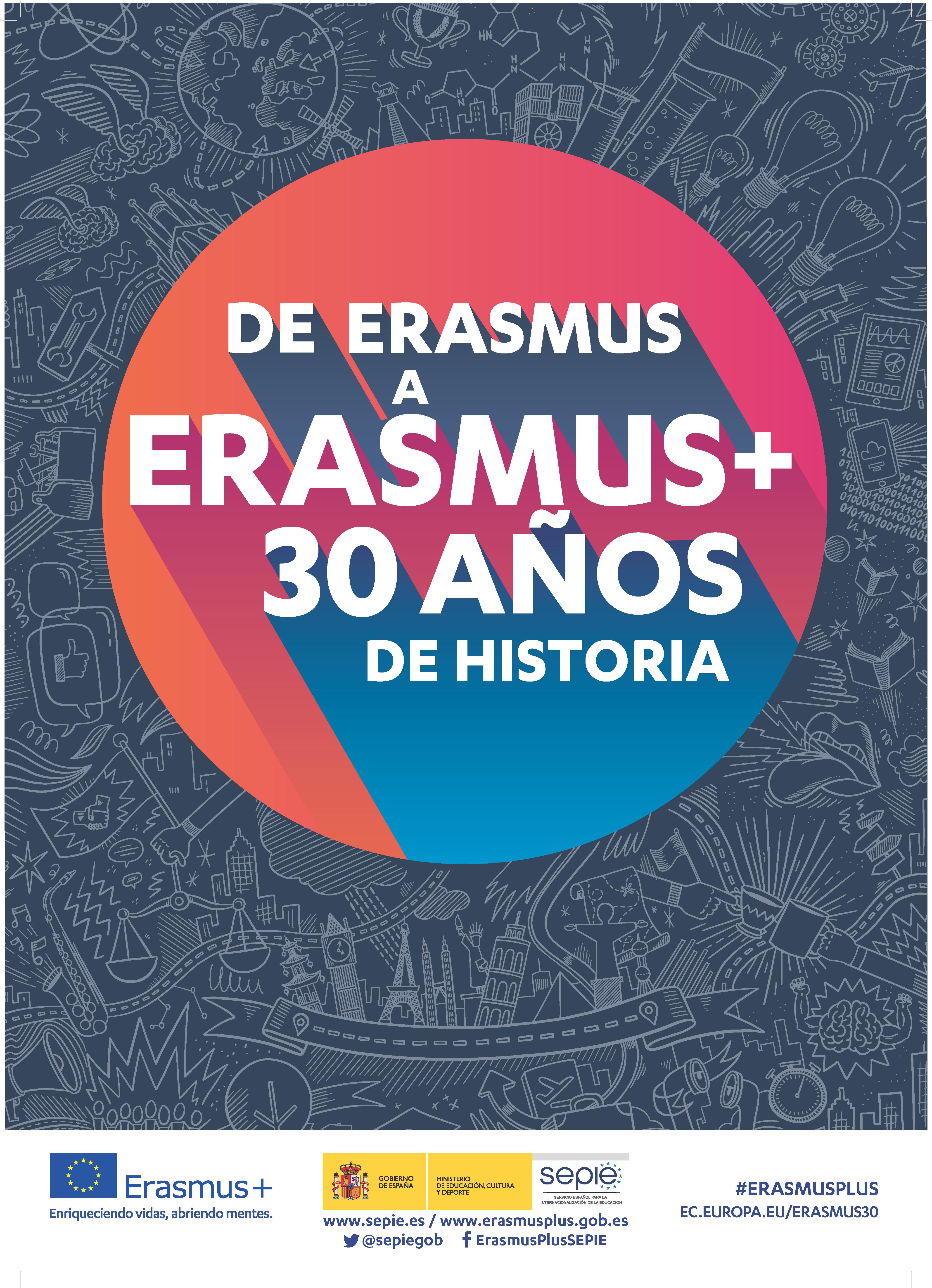 Erasmus+ 30 Aniversario